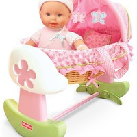 Fisher Price Newborn Rocking Bassinet $34.12