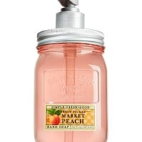 Mason Jar Hand Soap Market Peach