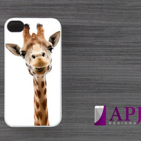 iPhone 4 case Giraffe Funny iPhone 4s case iPhone 4 cover iPhone 4s skin iPhone 4s cover iPhone 4s