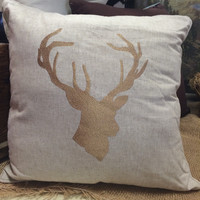 King of the Woods Pillow
