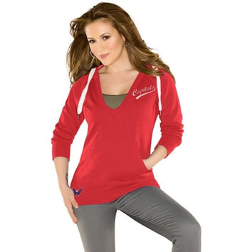 Touch by Alyssa Milano Washington Capitals Women's Pullover Hoodie