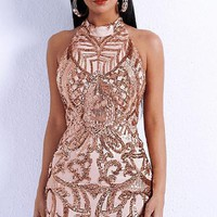Tiwa Sequin Party Dress