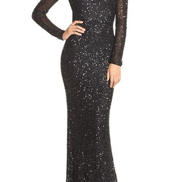 Parker 'Ronda' Embellished Silk Mermaid Gown | Nordstrom