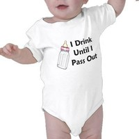 Baby Girl Bottle Shirts from Zazzle.com
