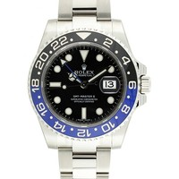 Rolex GMT-Master II 2 Steel Black & Blue Ceramic Bezel 116710 BLNR