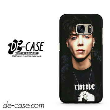 Andy Biersack Black Veil Brides Vocalist DEAL-766 Samsung Phonecase Cover For Samsung Galaxy S7 / S7 Edge