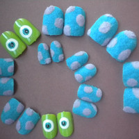 Monsters Inc False Nails