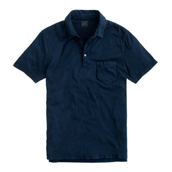 J.Crew Mens Tall Broken-In Pocket Polo