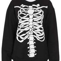 Skeleton Sweat By Tee And Cake - New In This Week  - New In