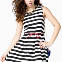 Stripe Mod Dress
