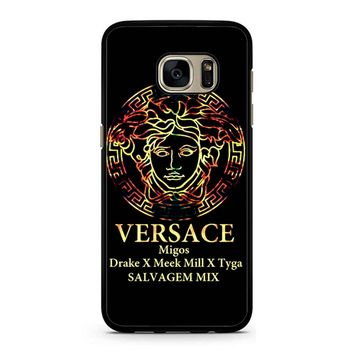 Versace Gold Samsung Galaxy S7 Case