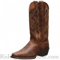 Justin Stampede Western Apache Men's Cowboy Boots
