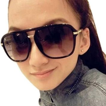 DCCKIX3 Women Retro Vintage Classic Elegant Oversized Lenses Glasses Sunglasses = 1946377028