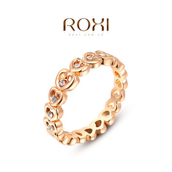 ROXI brands gold plated with Austrian crystal women rings,Nickeless fashion rings,fashion jewelry,Chirstmas gifts,2010475175b