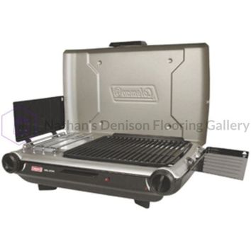 Coleman PerfectFlow™ Portable Camp Propane Grill/Stove+