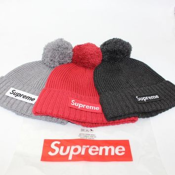 Supreme Winter Knit Wool Korean Hats [429893025828]