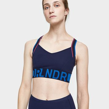 LNDR / Wild Thing Sports Bra in Navy