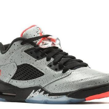 DCCKUN7 Ready Stock Nike Air Jordan 5 Retro Low Bg (gs) Neymar Basketball Sport Shoes