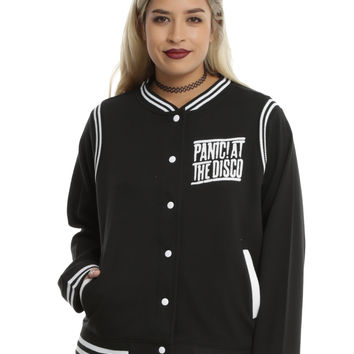 Panic At The Disco Girls Varsity Jacket Plus Size
