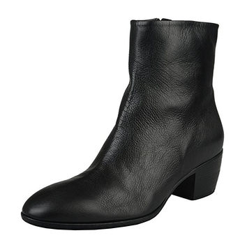 Giuseppe Zanotti Homme Men's Black Leather Ankle Boots Shoes
