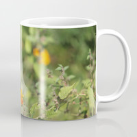 Black Swallowtail In The Garden Coffee Mug by Theresa Campbell D'August Art