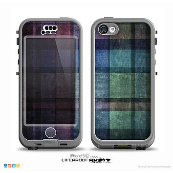 The Multicolored Vintage Textile Plad Skin for the iPhone 5c nüüd LifeProof Case