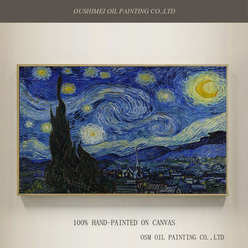 Professional Artist Handmade High Quality Reproduction Vincent Van Gogh Oil Pain