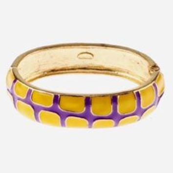 Oprah's List Gecko Bangles {Game Day Colors}