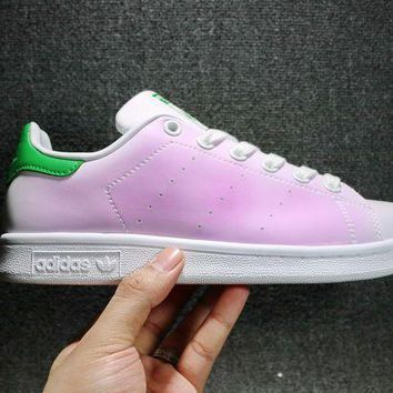 ESBONS Adidas Sup Stan Smith Men Women DIY Sneakers Fashion Discolor Shoes