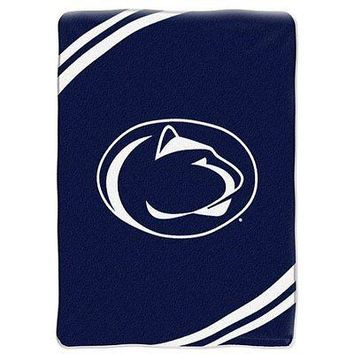 Penn State Nittany Lions NCAA Force Series Raschel Plush 60x80 Throw/Blanket