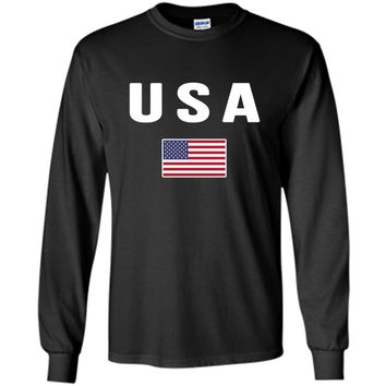 USA T-shirt American Flag US Tee America United States