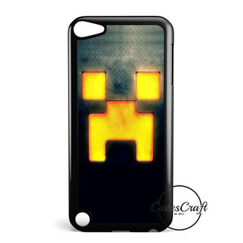 Minecraft Creeper Face iPod Touch 5 Case