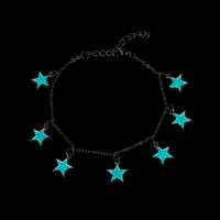 Glow In The Dark Chain Anklet