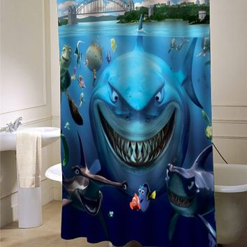 Finding Nemo shower curtain - myshowercurtains