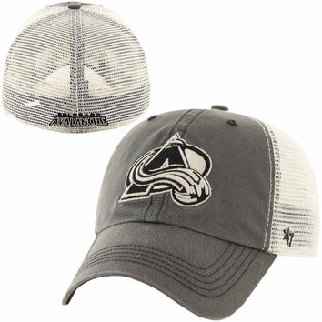 Colorado Avalanche '47 Brand Caprock Canyon Flex Hat – Charcoal