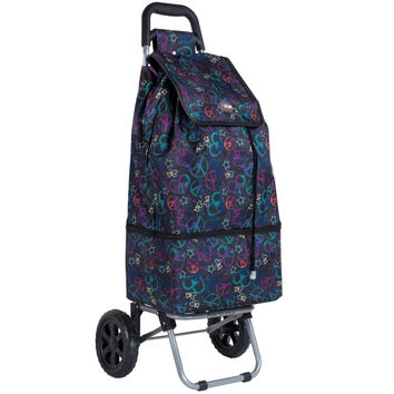 Rolling Portable Cart Shopping Laundry Errands Sports