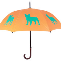 Walking Stick Umbrella, French Bulldog, Stick