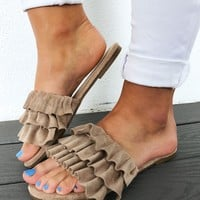 Great Adventure Sandals: Taupe