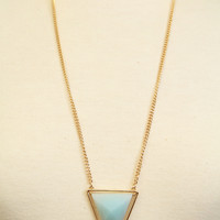 Pale Blue Vertex Necklace Set - Necklace Set