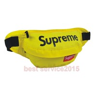 Supreme Yellow Fanny Pack