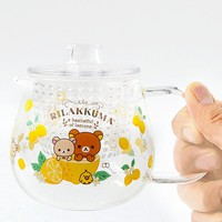 A Basketful of Lemons Rilakkuma Heat-Resistant Glass Pot