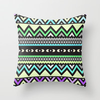 Mix #478 Throw Pillow by Ornaart