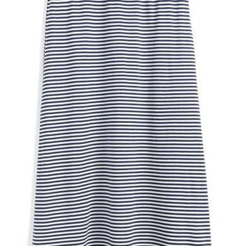 Girl's Ralph Lauren Stripe Maxi Skirt