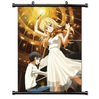 Your Lie in April (Shigatsu wa Kimi no Uso) Anime Wall Scroll Poster (32x46) Inches