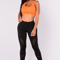 Georgina Active Leggings - Black