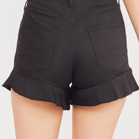BDG High-Rise Ruffle Short | Urban Outfitters