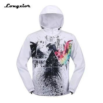 G20 New 2017 Men Kanye West Jacket Novelty 3D Printed Jackets and Coats Men's Off White Clothing chaqueta hombre