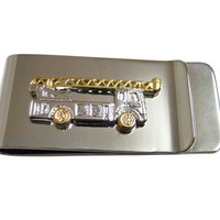 Construction Crane Truck Money Clip