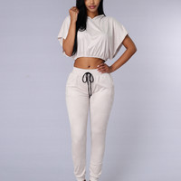On Beat Jogger - Taupe
