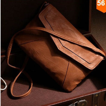 womens leather envelope shoulder bags ladies small vintage summer handbags crossbody sling messenger bag designer satchels = 5978930241